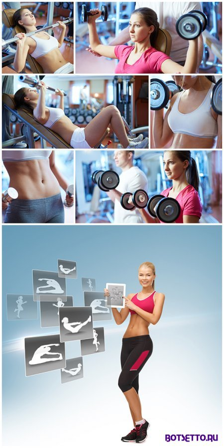 Stock Photos - Girls Fitness