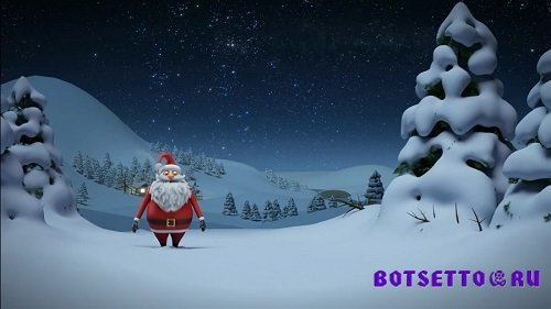 Intro Santa Christmas Sony Vegas Pro Project