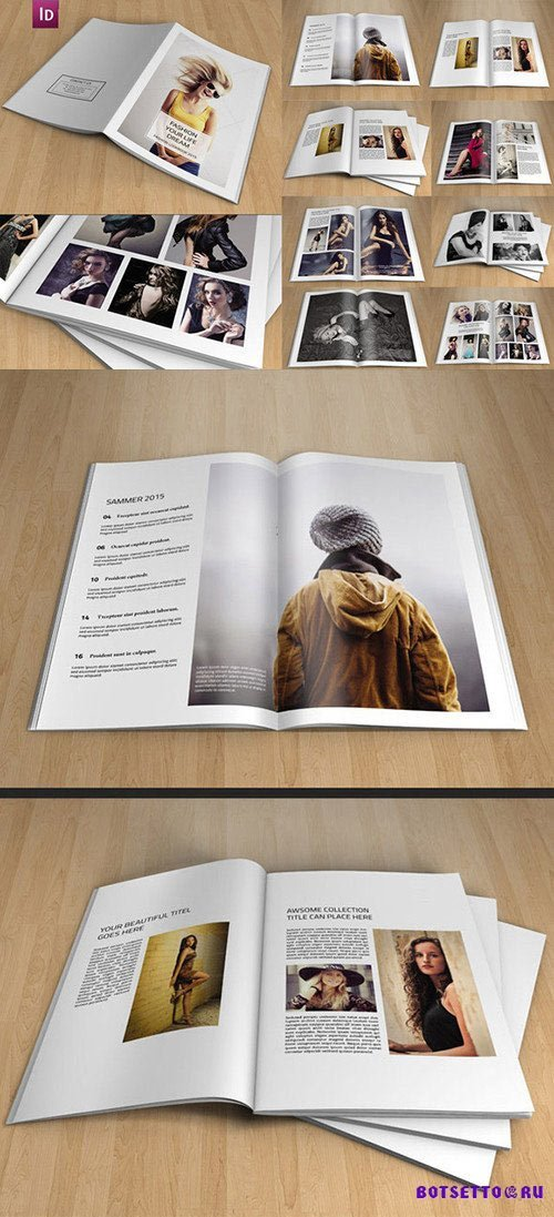 InDesign Photography Brochure
