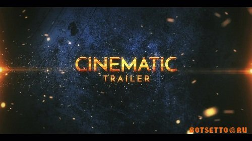 Cinematic Epic Trailer - After Effects Templates