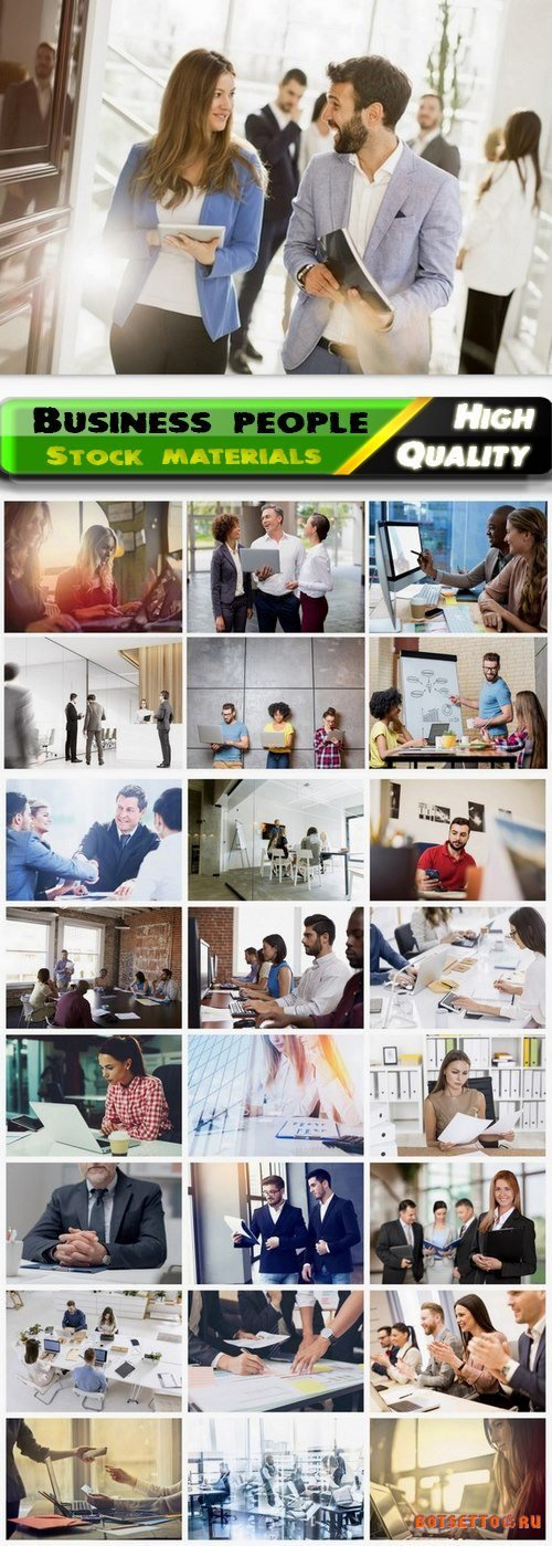 Business characters and people in office at work 4 25 HQ Jpg