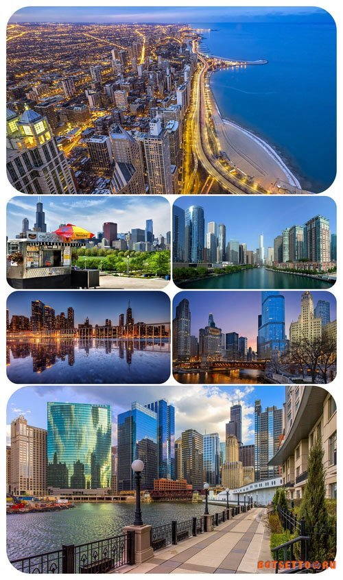 Wallpaper pack - Chicago (USA)