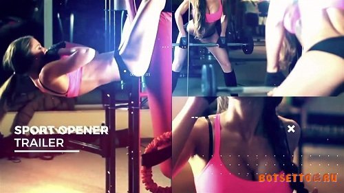 Sport Cinematic Opener 35472 - After Effects Templates