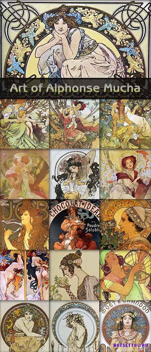 Art of Alphonse Mucha