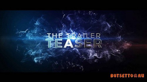 The Cinematic Trailer Teaser - After Effects Template